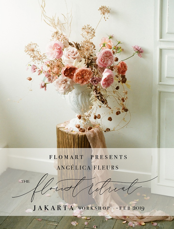 FLOMART x Angelica Fleurs - The Florist Retreat